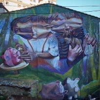 Arte Urbano del Barrio de San Anton