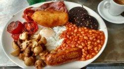 Un authentique petit déjeuner anglais
