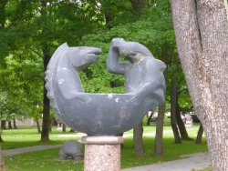 Martynas Mažvydas Sculpture Park