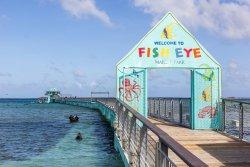 Entrance to Fish Eye Marine Park