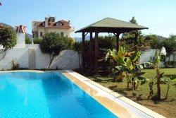 Pool and sun house