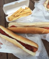Eddie's Footlong Hot Dogs