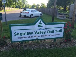 ‪Saginaw Valley Rail Trail‬