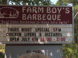 On the SC BBQ Trail