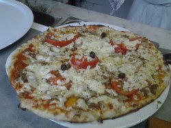 la premiere pizza du pissalat !