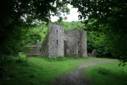 Carey's castle awaits you at the end of a short hike.