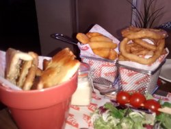 onion rings & fries