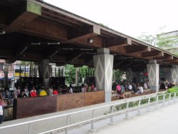 Beitou Fuxing Park Hot Spring Foot-Soaking Pool