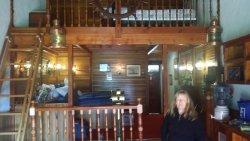 inside the Love boat themed room