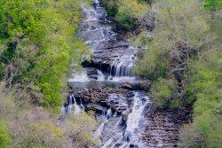 Mirador de las Cascadas del rio Gandara