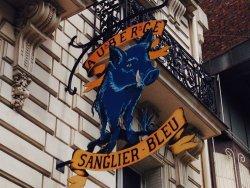 Le Sanglier Bleu