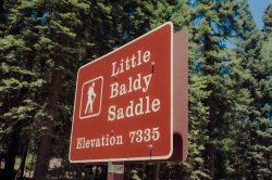 Little Baldy Trail