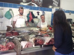 You just can't get any fresher fish