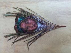 Balam Art On Feathers