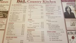 B & L Country Kitchen