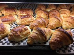 Delicious and perfect!  Every bite!  My favorite place for breakfast and pastries!  Don't get sc