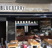 Blueberry Coffee Food Bakery