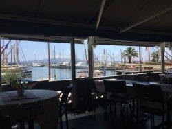 Une vue très sympathique sur le port