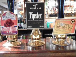 good selection of real ales