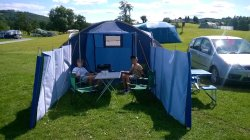 The best campsite in the lakes