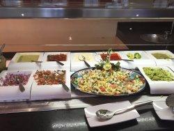 Food at Sian Ka'an buffet on Gala night