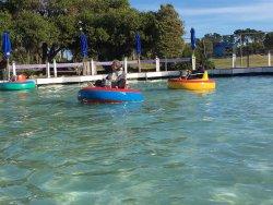 Nelson Fun Park Hydroslide & Bumper Boats