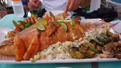 Amazing Red Snapper for four