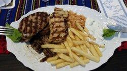 Lecker Griechisch essen