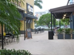 Town Center  outdoor seating at Buffalo Wild Wings and Cream