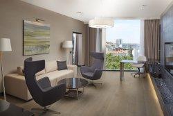 One Bedroom King Deluxe Sauna Suite Lounge
