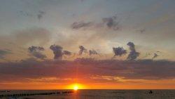 widok z tarasu Marina Unieście