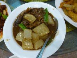 Beef Brisket with Chinese Radish