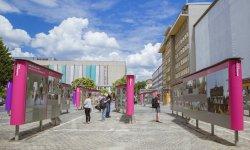 """Open-Air-Ausstellung """"Revolution und Mauerfall"""""""