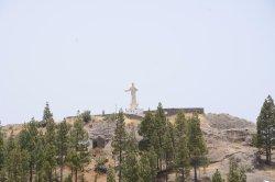 Escultura Corazon  de Jesus