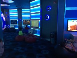 One of the rooms in the Kids Club