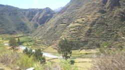 Carretera a Huancaya - tramo final