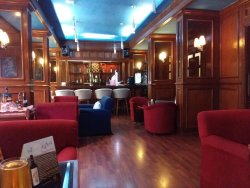 High Tide Bar with a neat wooden interiors