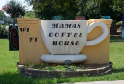 Mama's coffee house