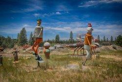 Large Junk Art Sculptures