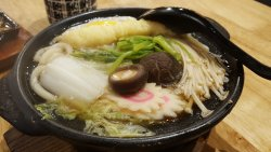 Nabe Yaki Udon, love the texture of the Udon