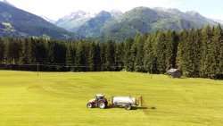 Peacefulness, comforts and spectacular views of the Alps,