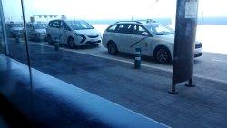 Taxis y otro transporte
