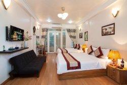 河內老城區家庭旅館