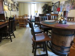 Local furniture and art for sale