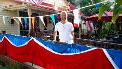 Chef Baptist Knaven celebrates Bastille Day 2016