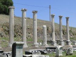 Templo de Artemisa (lo que queda)