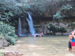 Pedra Furada Falls