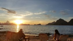 Travelonline-They did it easy for us. Hadefe Cottages just right for the PICTURESQUE EL NIDO