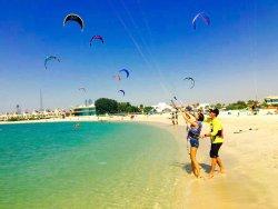 Kitesurfing Lessons - Kite Zone Dubai