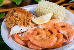Shrimp & Deviled Crab